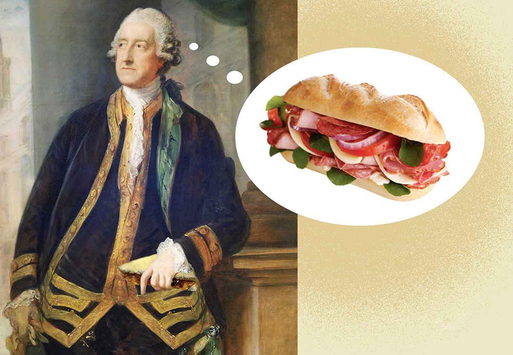 John Montagu Pemain Judi yang Menemukan Roti Lapis